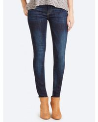 Current/Elliott Blue The Ankle Skinny