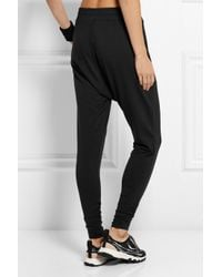Nike Black Avant Move Stretch-Jersey Tapered Pants