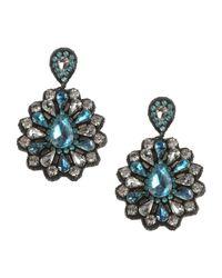 Deepa Gurnani | Blue Earrings | Lyst