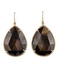 Irene Neuwirth Black Teardrop Earrings
