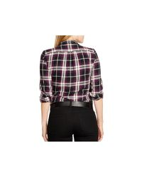 Pink Pony - Purple Lauren Plus Plaid Shirt - Lyst