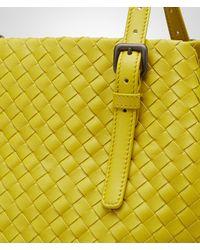 Bottega Veneta - Yellow New Chartreuse Intrecciato Nappa Tote Bag - Lyst