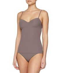 Hanro - Gray Allure Camisole Top - Lyst