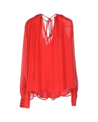 Plein Sud - Red Shirt - Lyst