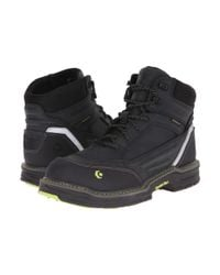 "Wolverine - Black Overman 6"" Composite Toe Boot for Men - Lyst"