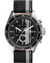 Fossil - Gray 2959 Decker Stainless Steel Watch - For Men for Men - Lyst