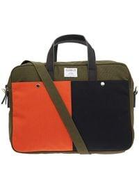Sandqvist Green Olive Mats Laptop Bag