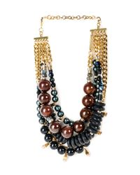 Lizzie Fortunato | Metallic Of The Night Necklace | Lyst