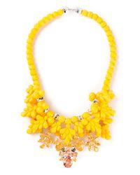 EK Thongprasert Yellow Silicone Necklace