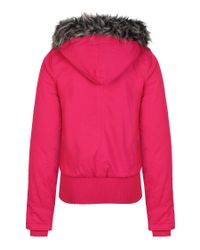 Bench Pink Timmytom Ii Bomber-Style Parka Jacket