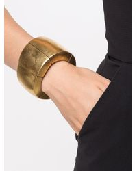 Monies | Metallic Sectional Bracelet | Lyst