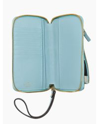 kate spade new york Blue Ella Lane Maia Travel Wallet