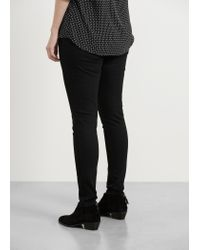 Violeta by Mango - Black Color Massha Jeggings - Lyst