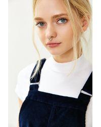 Urban Outfitters - Metallic Sarah Rhinestone Nose Ring - Lyst