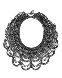 BaubleBar Metallic The Courtney Bib