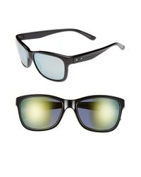 Oakley | Black 'forehand' 57mm Sunglasses | Lyst