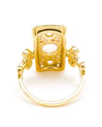 Sabine G - Metallic 18k Yellow Gold Navona Ring - Lyst