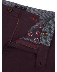 Ted Baker Red Silverp Chinos for men