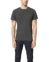 RVCA | Gray Ptc2 Pigment Tee for Men | Lyst