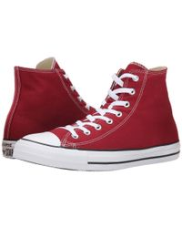 Converse - Red Chuck Taylor® All Star® Seasonal Hi - Lyst