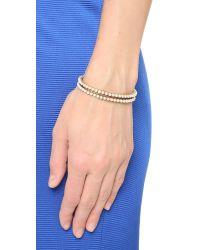 Marc Jacobs   Metallic Dots Friendship Bracelet   Lyst