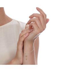 Alex Monroe - Metallic Key Bracelet - Lyst
