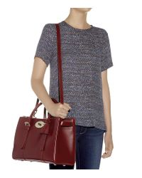 Mulberry Red Bayswater Double Zip Tote