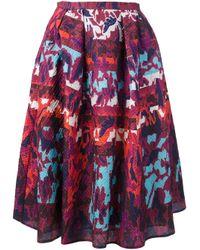 Peter Pilotto Purple 'Emma' Skirt