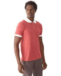 Alternative Apparel | Purple Feeder Striped Polo Shirt for Men | Lyst