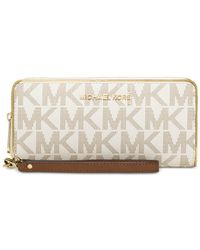 Michael Kors | Metallic Michael Travel Specchio Continental Wallet | Lyst