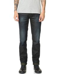 Calvin Klein Jeans - Black Slim Straight Leg Jeans for Men - Lyst