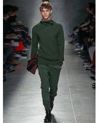 Bottega Veneta Green Roll-Neck Sweater for men