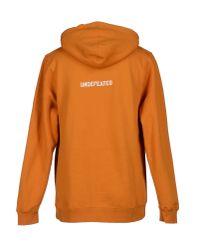Undefeated | Orange Sweatshirt for Men | Lyst