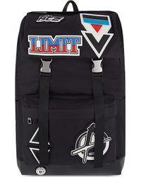 KTZ Multicolor Rubber Patch Backpack for men