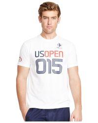 Polo Ralph Lauren   White Us Open Rlx Performance Jersey T-shirt for Men   Lyst