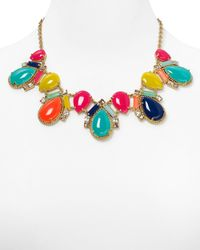kate spade new york - Multicolor Amalfi Mosaic Short Necklace 18 - Lyst