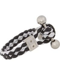 Givenchy Black Piercing Bracelet