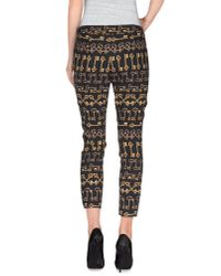 Dolce & Gabbana - Black Casual Pants - Lyst
