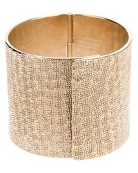 Givenchy - Metallic Textured Cuff - Lyst