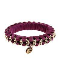 Liu Jo - Purple Bracelet - Lyst