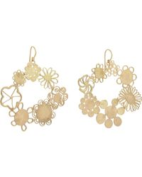 Judy Geib - Metallic Gold Erewhon Hoops Size Os - Lyst