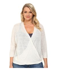 NIC+ZOE - Natural Plus Size 4-way Cardy - Lyst