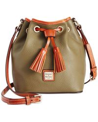 Dooney & Bourke | Green Kendall Drawstring Crossbody Bag | Lyst