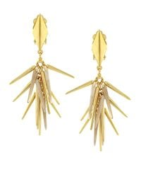 Vince Camuto | Metallic Gold-plated Shaky Drop Earrings | Lyst