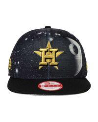 huge selection of 460d2 32c69 KTZ Houston Astros Sw X Mlb 9fifty Snapback Cap in Black for Men - Lyst