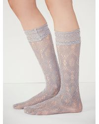 Free People | Gray Womens Bonita Anklet | Lyst