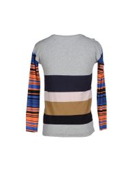 Dries Van Noten - Gray T-shirt for Men - Lyst