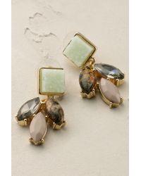 Anthropologie | Green Marvella Earrings | Lyst