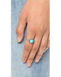 Pamela Love - Blue Frida Ring - Turquoise/silver - Lyst