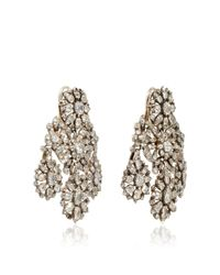 Simon Teakle Multicolor 18th Century Diamond Girandole Convertible Earrings